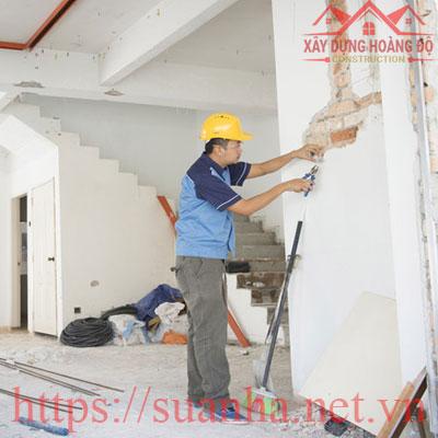 Công ty sửa chữa nhà nhanh giá rẻ Hoàng Độ tại T.P Hồ Chí Minh