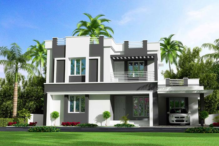 Hình anh thiết kế nhà hiện đại 1