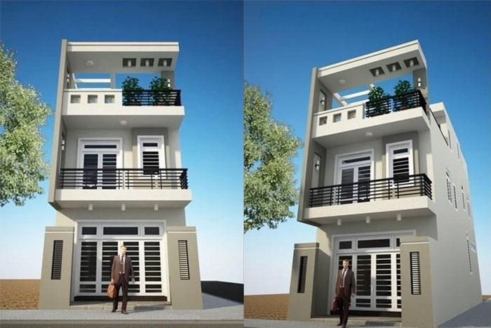 Hình anh thiết kế nhà hiện đại 5